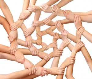 Ring of many hands team